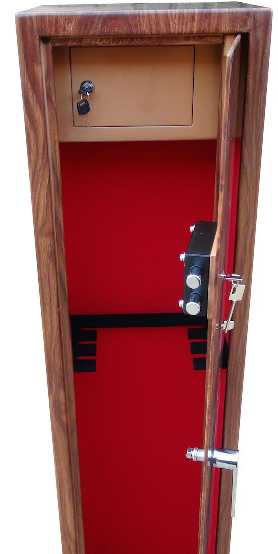 gun wood effect cabinet safe clay pigeon traps gun cabinetsclay