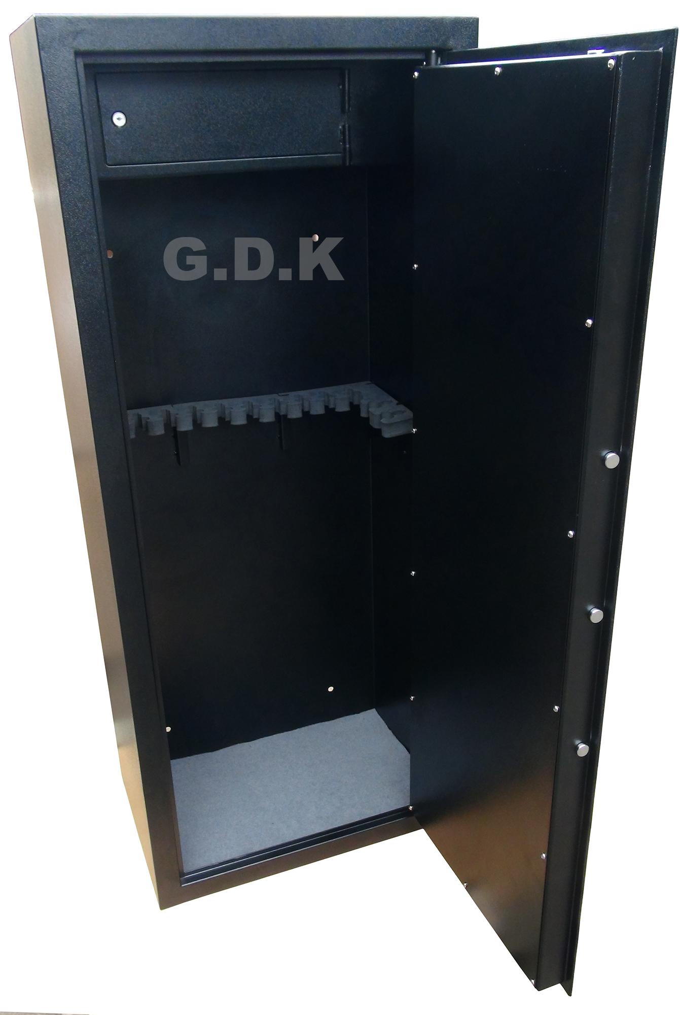 14 Gun Cabinet With Inner Ammo Safeclay Pigeon Traps Gun