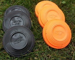 Clay pigeon targets